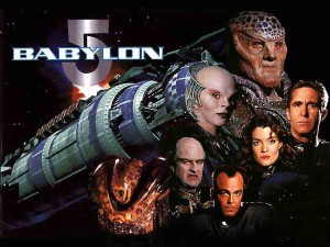 """Babylon 5"" - my favorite television show of all time."