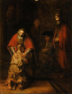 "Rembrandt's ""Return of the Prodigal Son"""