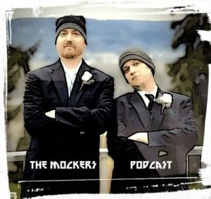 "Brothers Eric and Andy Mocker of ""The Mockers Podcast."""